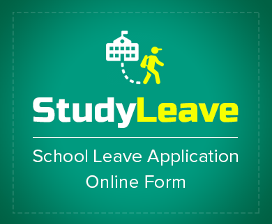 School Leave Application Form Thumb