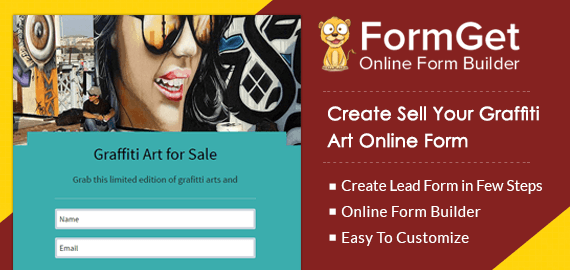 Create Graffiti Art Selling Form For Graffiti & Wall Paint Artists