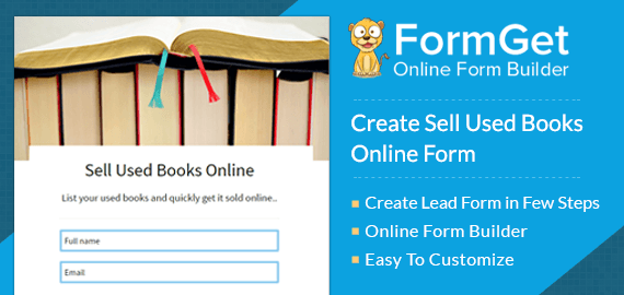 Sell used Books Online Form Slider