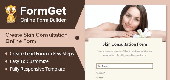 Skin Consultation Form Slider