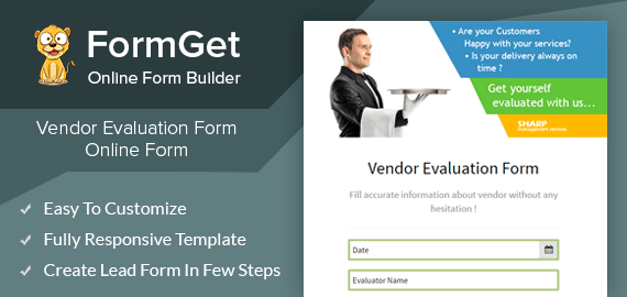 Create Vendor Evaluation Form For Private Surveyors & Reviewers