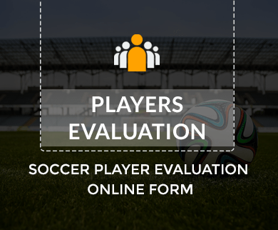 FormGet – Create Soccer Player Evaluation Form For Sports Club & Training Centers