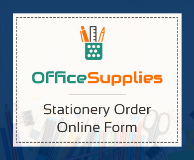 FormGet – Create Stationery Order Form For Quire Stores & General Stationaries