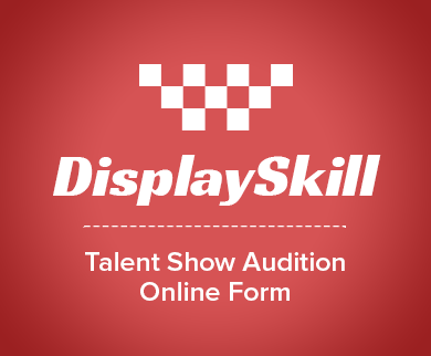 FormGet – Create Talent Show Audition Form For Talent Search Groups