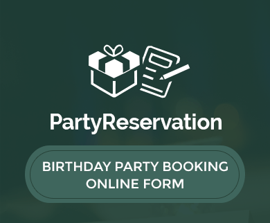 FormGet – Create Birthday Party Booking Form For Event Planners