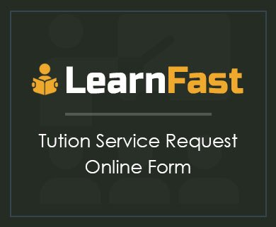 FormGet – Create Tuition Service Request Form For Tutors & Teachers