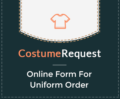 FormGet – Create Uniform Order Form For Uniform & Clothing Stores