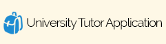 University Tutor Application Form