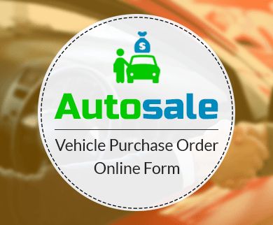 FormGet – Create Vehicle Purchase Order Form For Car Showrooms & Vehicle Dealers