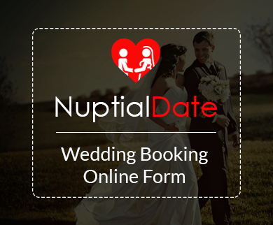 FormGet – Create Wedding Booking Form For Banquet Halls & Wedding Auditoriums