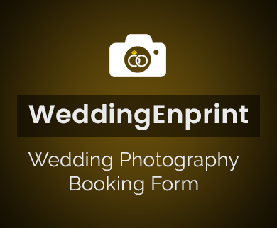 FormGet – Create Wedding Photography Booking Form For Photographers