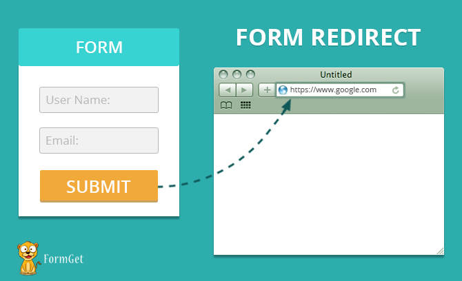 form-redirect-bring user to your website back