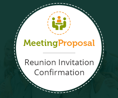 FormGet – Create Reunion Invitation Confirmation Form For Alumni, Colleges & Universities