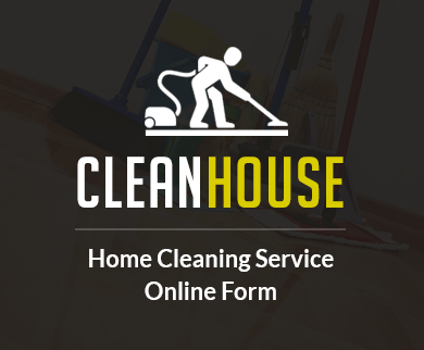 FormGet – Create Home Cleaning Service Form For Home Cleaning Companies