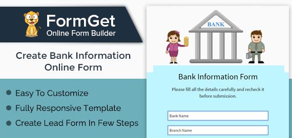 Bank Information Form