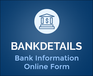 FormGet – Create Bank Information Form For Private Employee Organizations