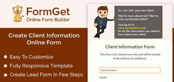 Client Information Form