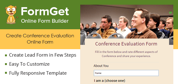 Conference Evaluation Form Slider