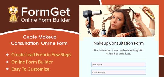 Create Makeup Consultation Form For Beauty Salon & Skin Clinics
