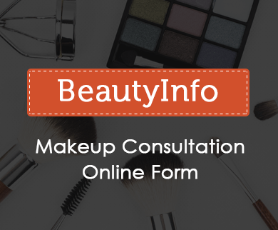 FormGet Create Makeup Consultation Form For Beauty Salon Skin Clinics