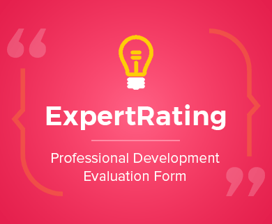 Professional Development Evaluation Form Thumb