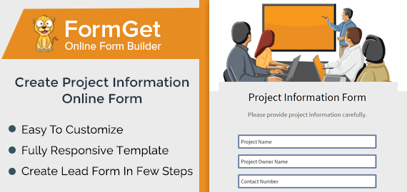 Project Information Form Slider