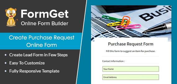 Purchase Request Form Slider