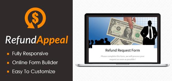 Refund Request Form Slider