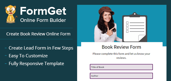 Create Book Review Form For Author, Librarians & Publishers