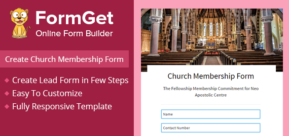 Create church membership form for church committee formget create church membership form for church committee thecheapjerseys Images