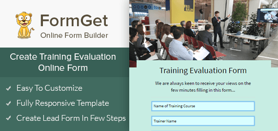 Training Evaluation Slider
