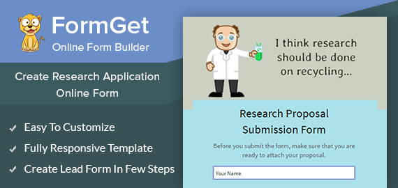 Research Proposal Slider