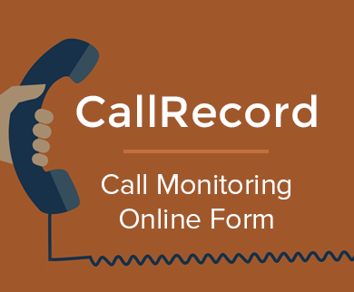 FormGet – Create Call Center Call Monitoring Form For Call Centres, BPO's & Voice Support Agencies