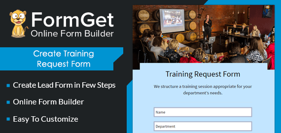 Training Request Form Slider