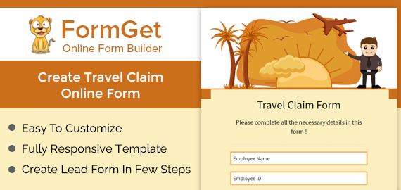 Travel Claim Form Slider