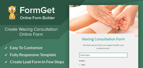 Waxing Consultation Form Slider