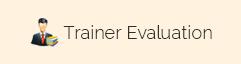 Trainer Evaluation Form