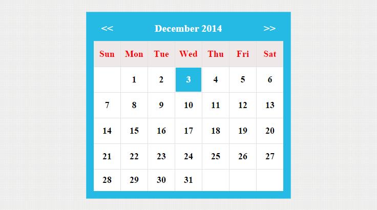 codeigniter-calendar