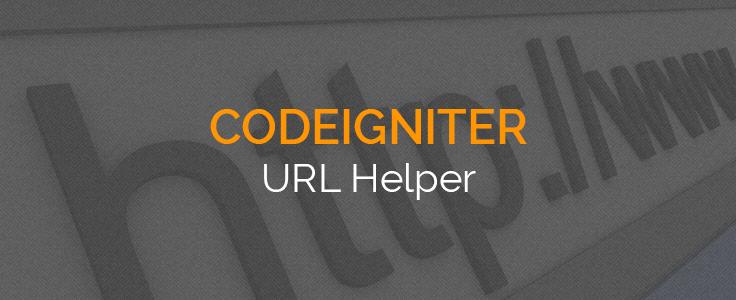 Codeigniter URL Class