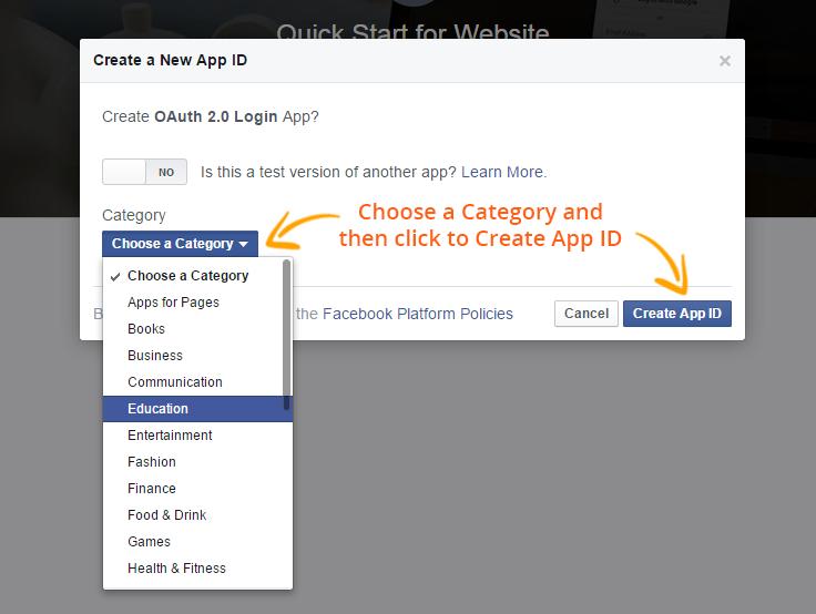 type of Facebook app id