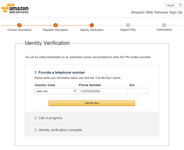 Amazon SES Account