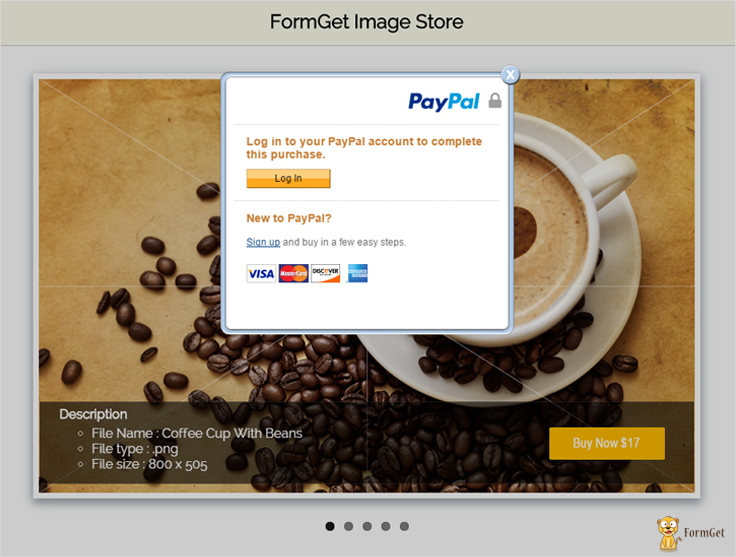 paypal express checkout for digital goods login