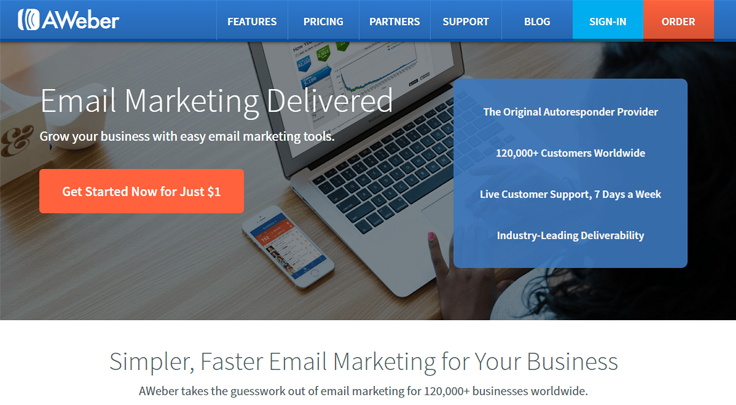 AWeber - Best Email Marketing Services