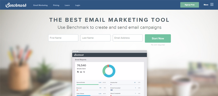 Benchmark - Best Email Marketing Services
