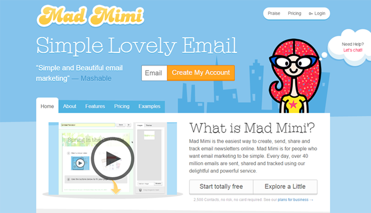 Mad Mimi - Best Email Marketing Services