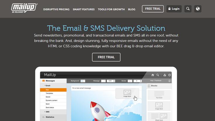 Mailup service