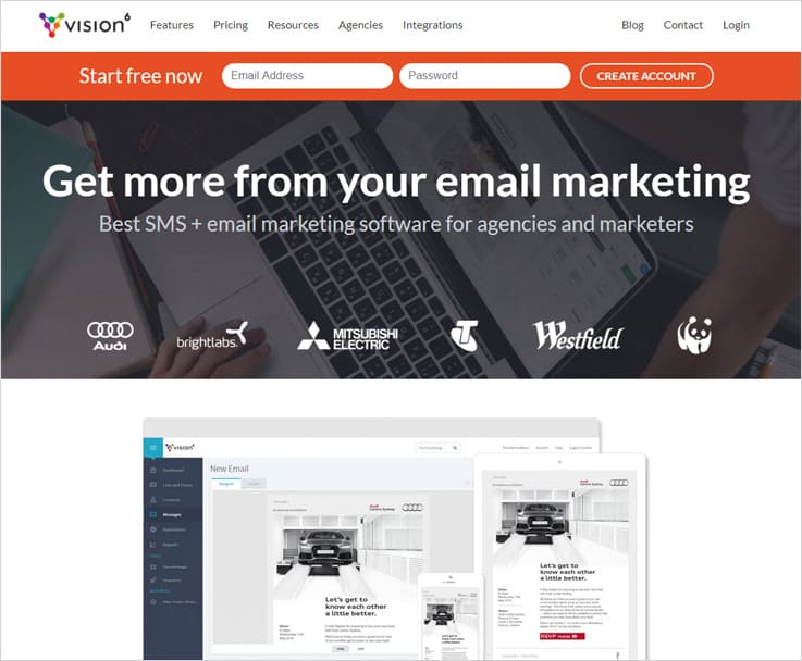 Vision6 - Best Email Marketing Services
