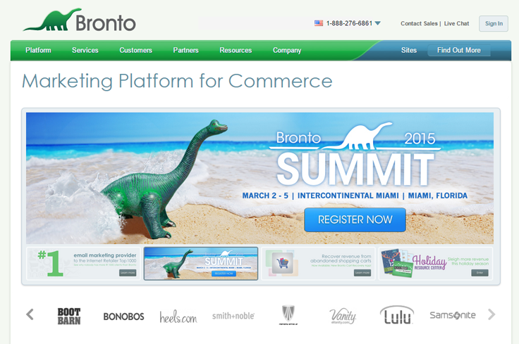 Bronto - Best Email Marketing Services
