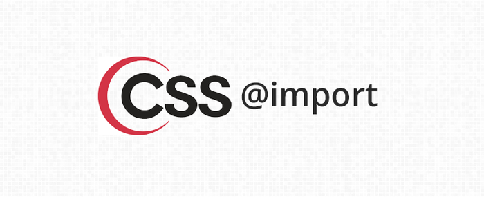 Include CSS File Using @import