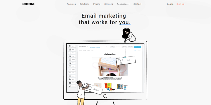 Emma - Best Email Marketing Services